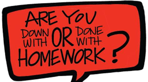 Article in favour of homework should be abolished